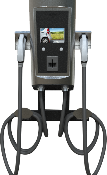 Btc Dual Wall Mount Level 2 Electric Car Charger